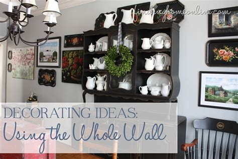 how to decorate whole house decorating the whole wall tips and ideas