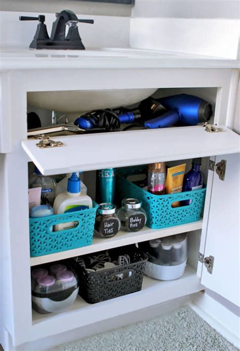 organize cosmetics toiletries the tricks easy under 17 best images about cleaning and organization tips