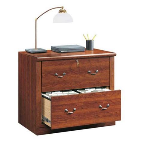 2 Drawer Wood Lateral File Cabinet With Lock by Wood Lateral File Cabinet 2 Drawer Office Furniture