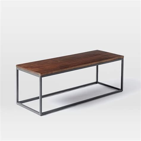 metal frame coffee table box frame coffee table wood antique bronze elm