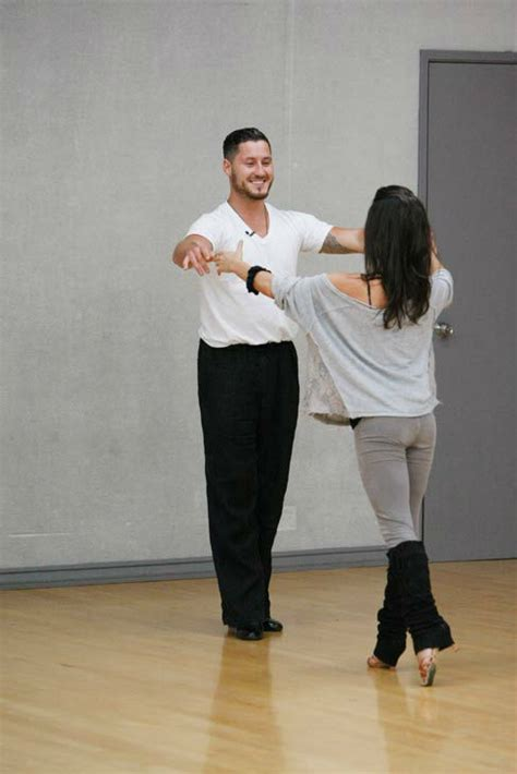 valentin chmerkovskiy and monaco with the all rehearsals