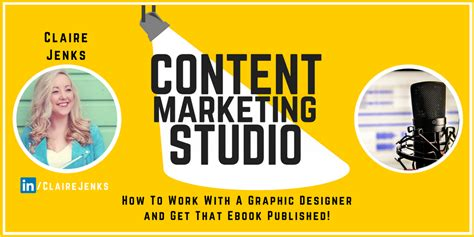 Jenks Graphic Designer In Newcastle - how to work with a graphic designer and get that ebook