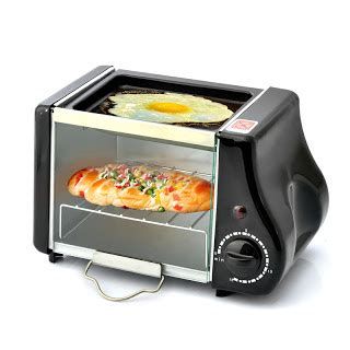 Oven Listrik Watt Kecil pemanggang roti dan oven listrik berukuran mini