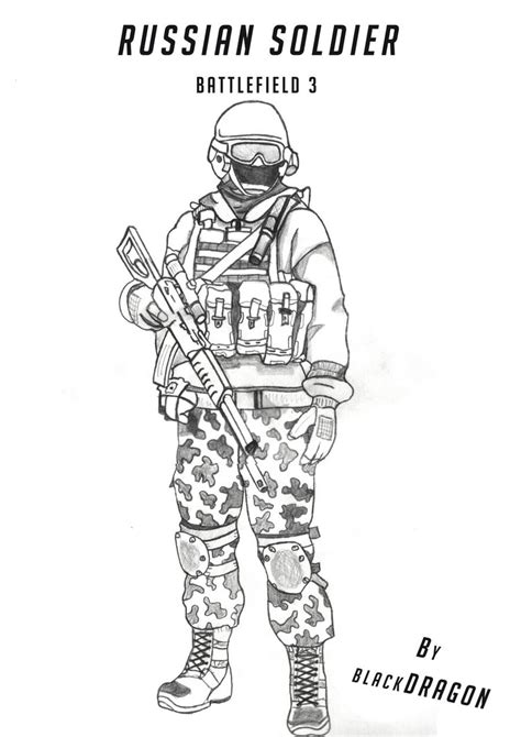 russian boy coloring page russian soldier by alexeyyyyyyyyy on deviantart