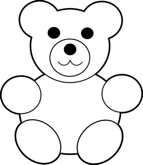 bear template clip art at clker com vector clip art