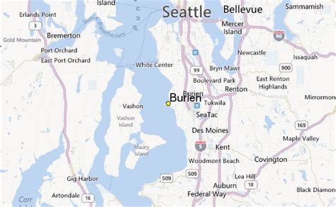 burien weather station record historical weather for