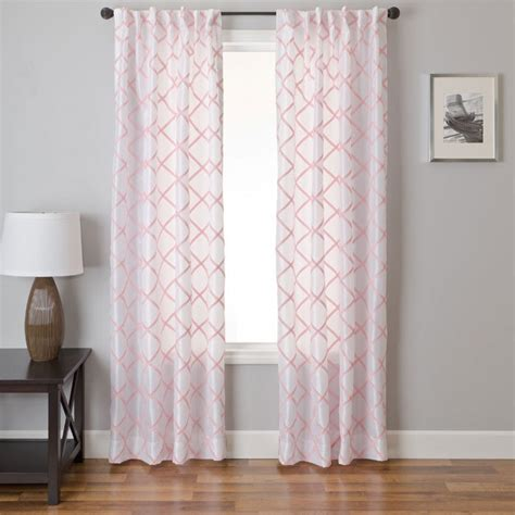 pink and grey nursery curtains thenurseries