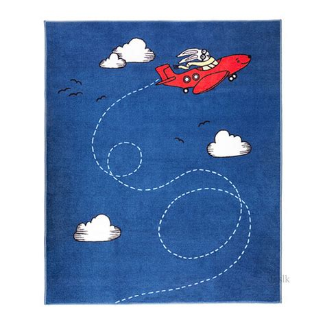 Ikea Throw Rugs | ikea flygtur area throw rug mat bue kids decor airplane