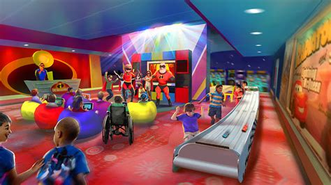 the disney pixar monsters universitytoy story zone also acts as a pixar play zone coming to disney s contemporary resort