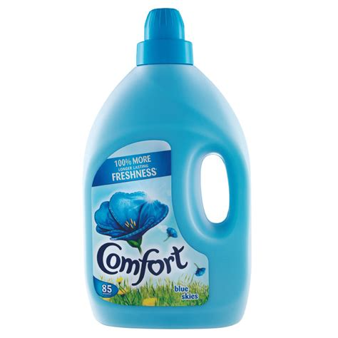 comfort detergent products b m comfort blue skies fabric conditioner 3l 293314 b m