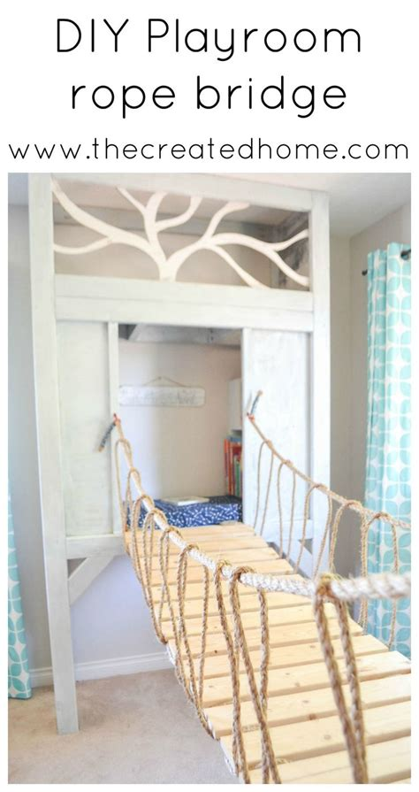 how to build a swinging bridge for kids best 20 kids room design ideas on pinterest