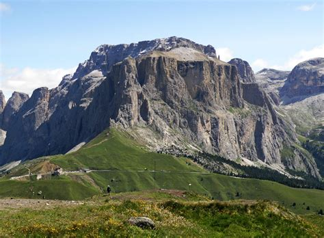 sella a passo sella a beautiful road in the dolomites roads to