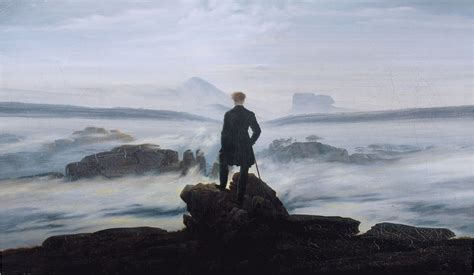 libro caspar david friedrich wanderer above the sea of fog quot was painted by caspar dav art artsy and paintings