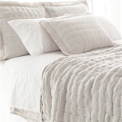 pine bedding brussels natural quilted bedding design by pine cone hill