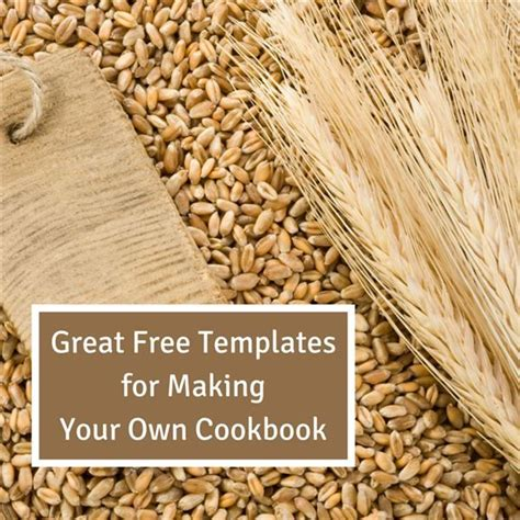 create your own cookbook template great free templates for your own cookbook