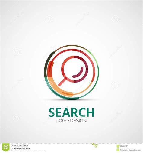 logo search vector vector search company logo business concept stock vector image 43585799