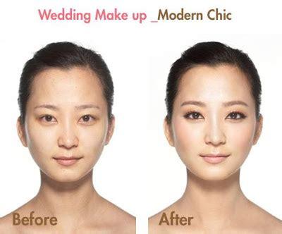 korean wedding makeup tutorial korean makeup before and after a dress girl