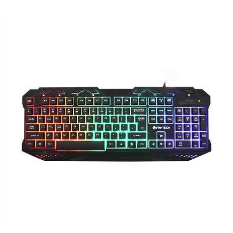 Keyboard Gaming Fantech K10 Garansi 1 Tahun harga fantech k10 backlight pro gaming keyboard usb hitam murah dokuprice