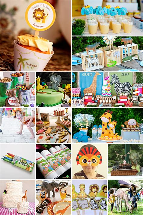 zoo themes party zoo birthday party decor image inspiration of cake and
