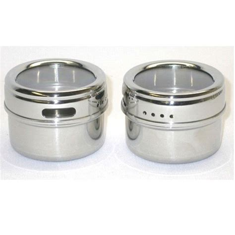 Magnetic Spice Jars Manufacturer Stainless Steel Magnetic Spice Jars Buy