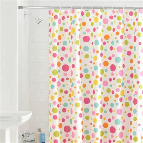 dot shower curtain dot shower curtain multicolor curtain menzilperde net