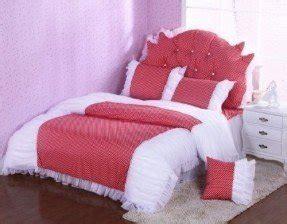 Bedcover Set 180x200x20cm Jaxine Polkadot Black Pink Black And White Polka Dot Bedspread Foter