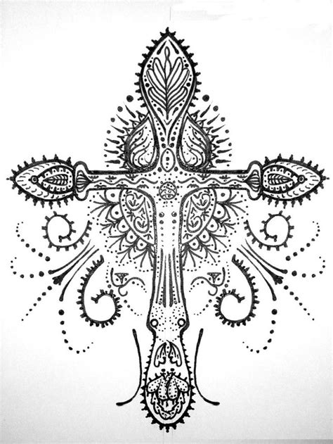 henna tattoo cross 34 best images about cross on christian