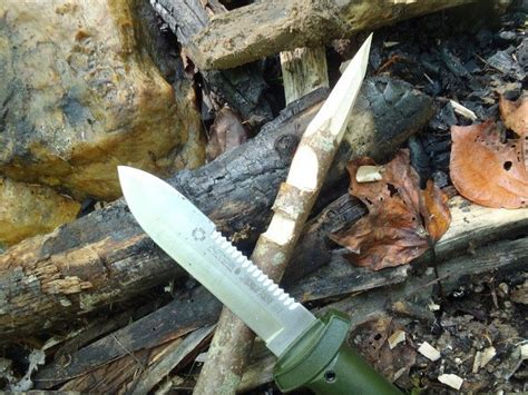 how to make a spear in the wilderness how to survive in the jungle tips from professionals