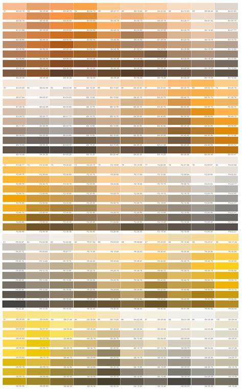 sigma ral colour chart