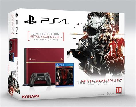 ps4 themes nz sony tips limited edition metal gear solid v themed ps4