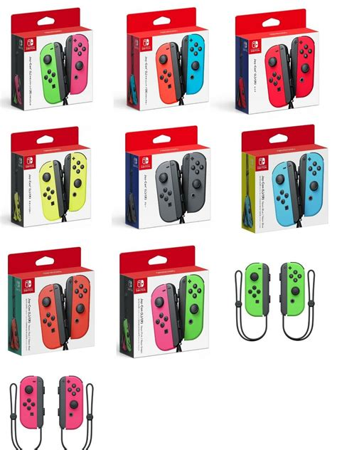 nintendo color global ship nintendo switch con wireless controller