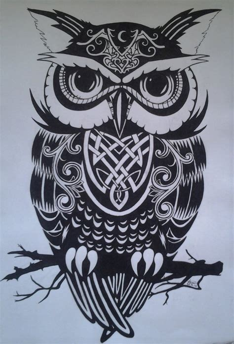 night owl tattoo throwback owl by xx on deviantart