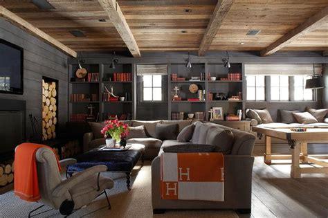Cottage Basement Ideas by Hermes Throw Cottage Basement M Design