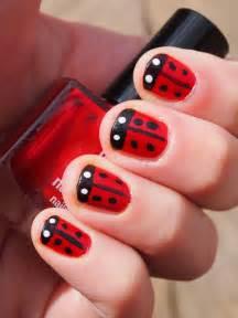 bewitchery ladybird nail art