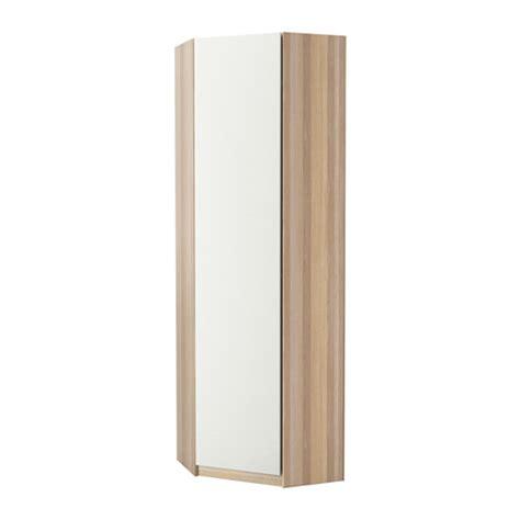 pax armario esquina vinterbro blanco efecto roble tinte