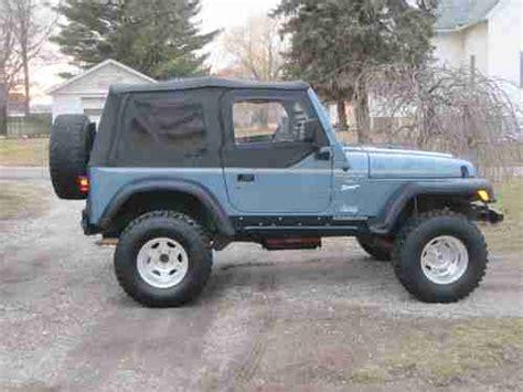 Used 1998 Jeep Wrangler Buy Used 1998 Jeep Wrangler Sport Sport Utility 2 Door 4