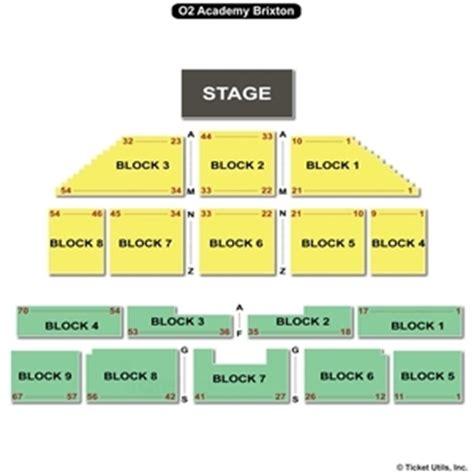 brixton academy floor plan o2 academy brixton seating charts