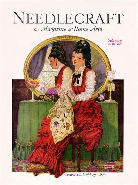 magazine covers by sam fenton at coroflot com 17 best images about vintage needlework and magazine