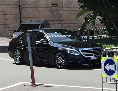 three s 2017 mercedes benz s class spied without camouflage