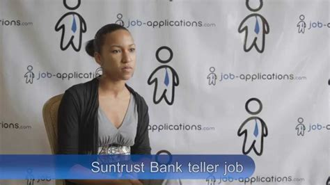 suntrust bank teller