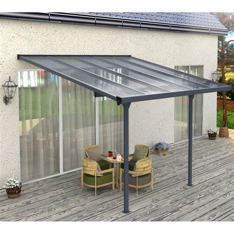 Aluminium Terrasse by Pergola Adoss 233 E Alu Ajustable 3 05x3 14m Ancrage Offert
