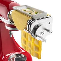 Kitchen Aid Pasta Roller by New Kitchenaid Ravioli Maker Mixer Attachment Pasta Wide