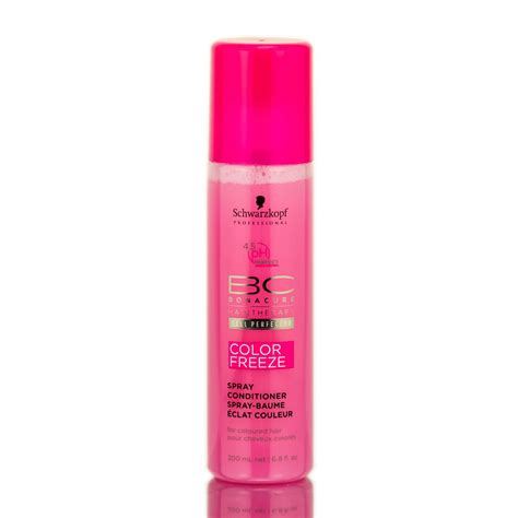 colorful bekitcha schwarzkopf spray conditioner bc schwarzkopf bc bonacure