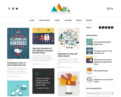 blog themes clean heap clean and responsive wordpress blog theme