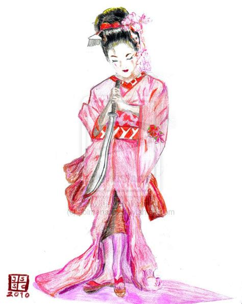 geisha and smoke tattoo design geisha designs free cool zone