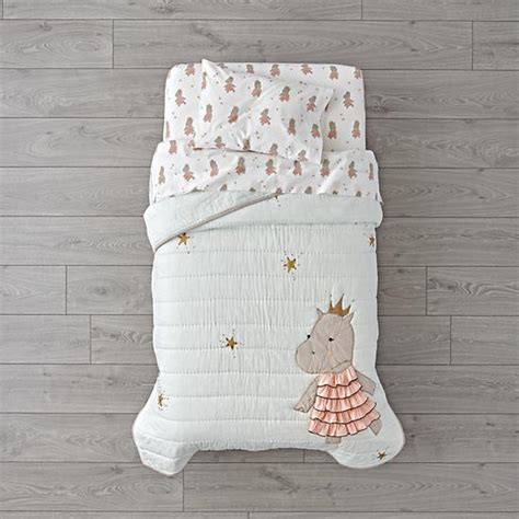 Hippo Crib Bedding Royal Hippo Toddler Bedding The Land Of Nod