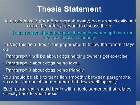 thesis paragraphs intro 5 paragraph essay thesis