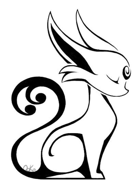 umbreon and espeon snuggles by espeon tribal tattoos i want