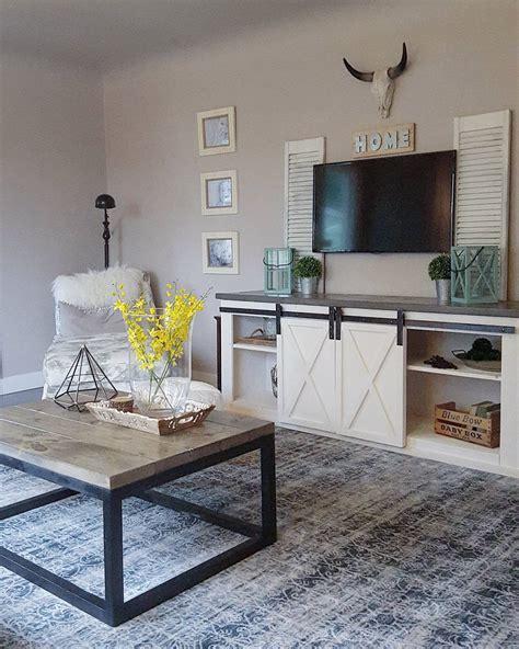 Farmhouse Living Room Table Furniture Primitive Sofa Table Farmhouse Coffee Table