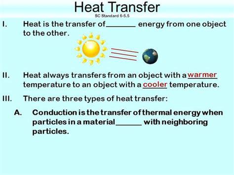 heat transfer templates heat transfer notes authorstream